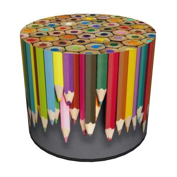 Pufa dekoracyjna Crayons 40x40