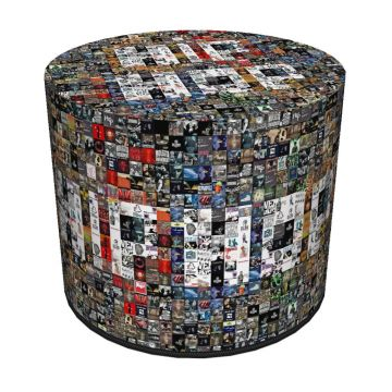 Pufa dekoracyjna Hiphop 40x40