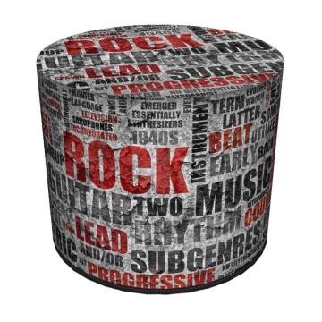 Pufa dekoracyjna Rock 40x40