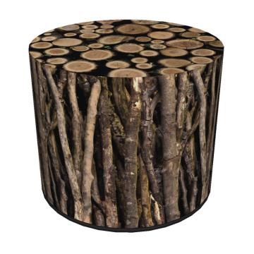 Pufa dekoracyjna Sticks 40x40