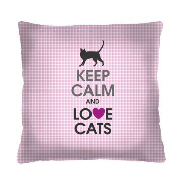 Poduszka Love Cats 40x40