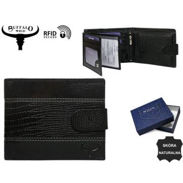 Portfel Męski Skórzany N992L-VTC Black