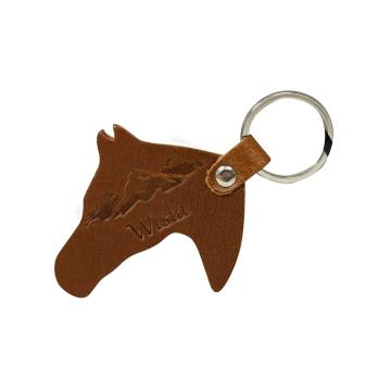 Brelok Skórzany Koń (10szt) HG008 Wisła Natural