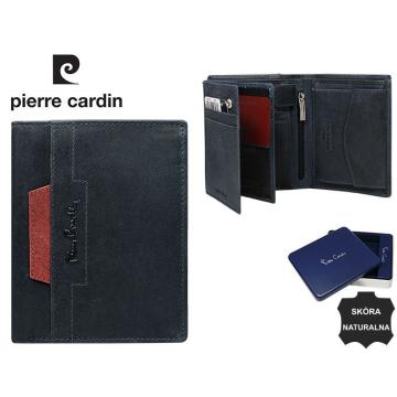 Portfel Skórzany Pierre Cardin 326-VO-02 Blu+Rosso