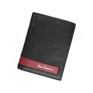 Pierre Cardin CB TILAK26 331 RFID (czarny + czerwony)