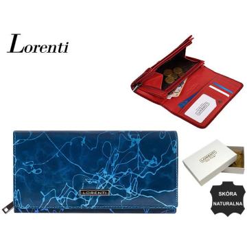 Portfel Damski Skórzany 76110-CV Blue