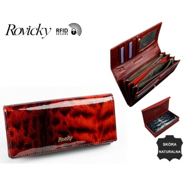 Portfel Damski 8802-PTR Red