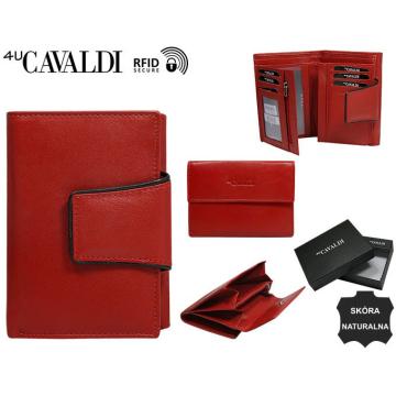 Portfel Damski Skórzany RD-03-GCL Red