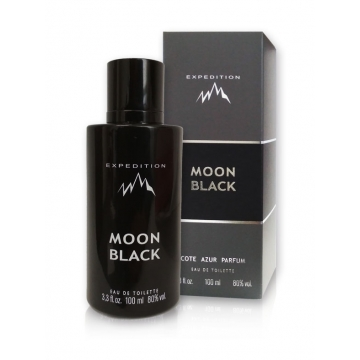 MOON BLACK EXPEDITION 100ML/ PAKIET 4SZTUKI + TESTER
