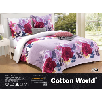 Pościel 3D Miś - Cotton World - SHY-5105 - 160x200 cm - 3 cz