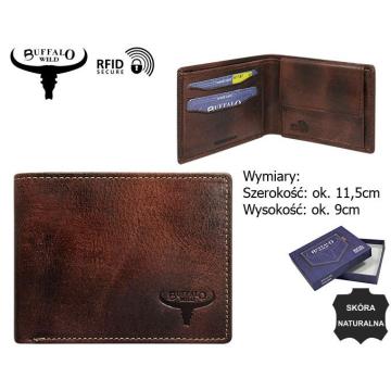 Portfel Skórzany N1189-HP 5090 Rust