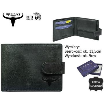Portfel Skórzany N1189L-HP 5106 Black