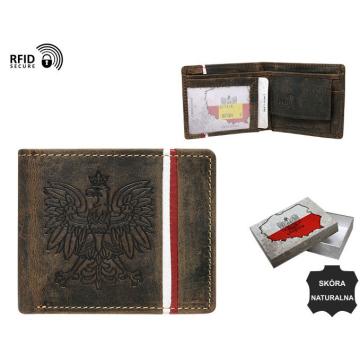 Portfel Skórzany N1183A-H 5199 Brown
