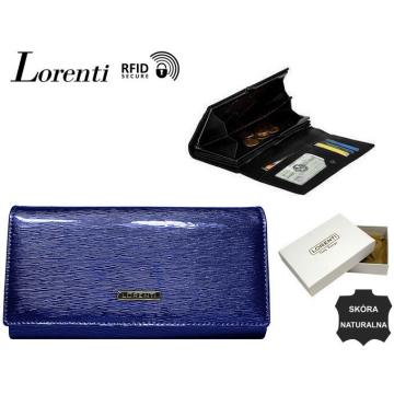 Portfel Damski Skórzany 72401-SH-RFID Blue