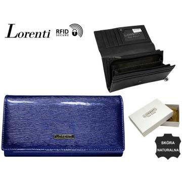 Portfel Damski Skórzany 76111-SH-RFID Blue