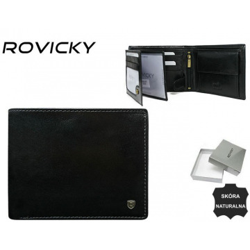 Portfel Męski Skórzany N992-RVT Black