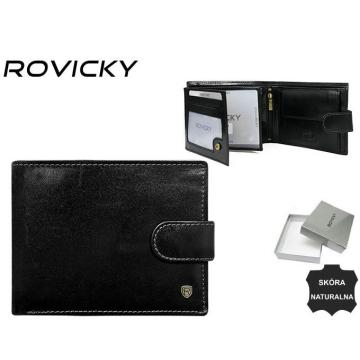 Portfel Męski Skórzany N992L-RVT Black