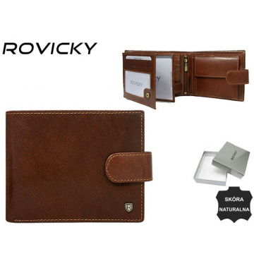 Portfel Męski Skórzany N992L-RVT Brown