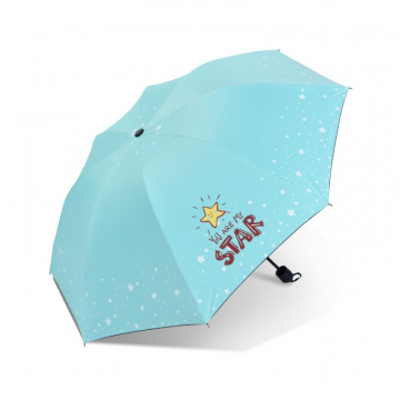 Parasol umbrella Star turkus PAR06M