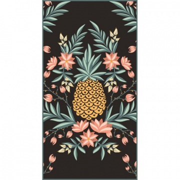 Rectangular beach towel 170x90 Pineapple REC46WZ3