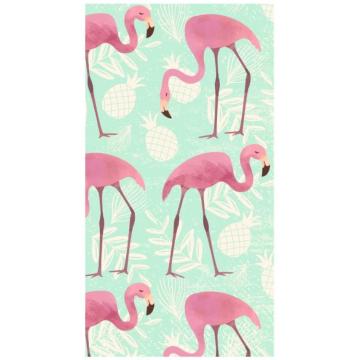 Ręcznik plażowy prostokątny mały 170x90 Flamingi REC46WZ9