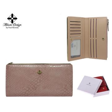 Portfel Damski PU K1213-SN Pink