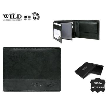 Portfel Męski Skórzany N992-GA-BOX Black