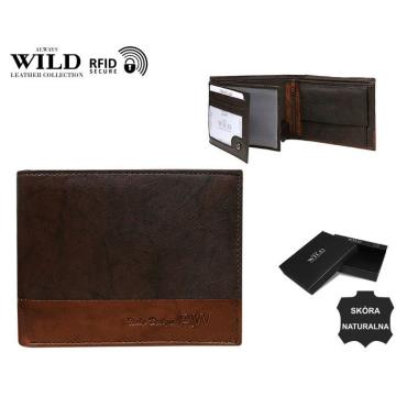Portfel Męski Skórzany N992-GA-BOX Brown