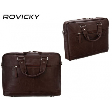 Torba Laptopowa PU LAP-R-801-15-PUD Brown