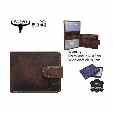 Portfel Skórzany N1186L-HP 5007 Rust