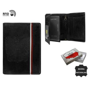 Portfel Męski Skórzany N4A-HP-BOX Black