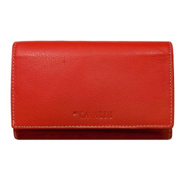 Portfel Damski Skórzany 57006-SPN Red