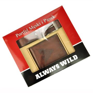 Always Wild PSB-N7-02-GG (ciemny brąz)