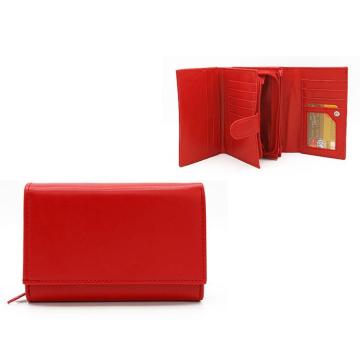 Portfel Damski PU 309 Red19#