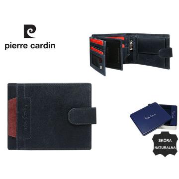 Portfel Skórzany Pierre Cardin 324A-VO-02 Blu+Rosso bez rabatowy
