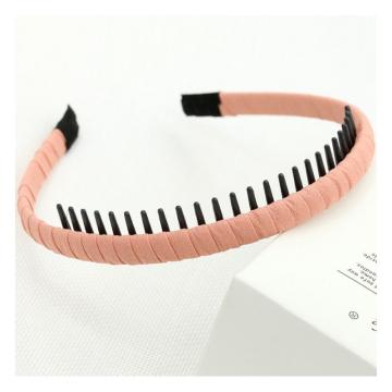 Grundlegendes dünnes schwarzes Haarband O373R