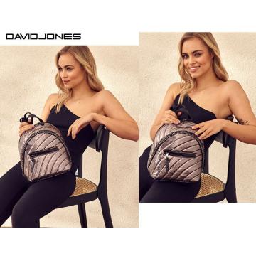 Plecak Damski David Jones 5834-3 D.Silver