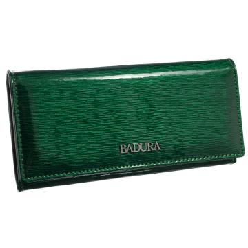 Portfel Damski Skórzany Badura B-72401P-SH Green