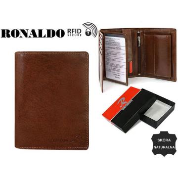 Portfel Męski Skórzany N104-VT-RFID Brown