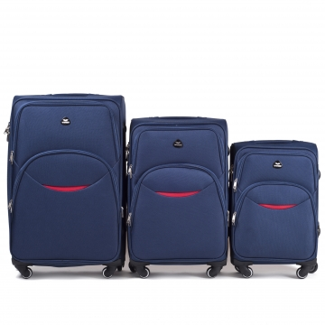 1708-4 KPL BLUE KOMPLET WALIZEK WINGS