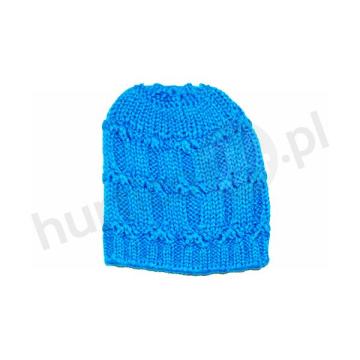 Czapka damska Solano 39 niebieska