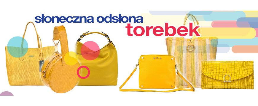 żółte torebki